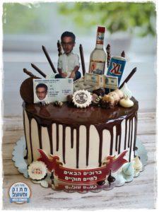 עוגת נזילות וממתקים לגיל 18 - אנה