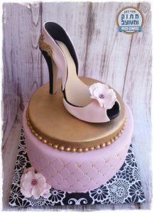 עוגת נעל עקב