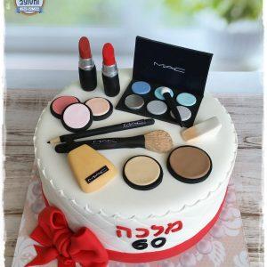 עוגת איפור תקריב