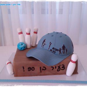 עוגה איריס כובע