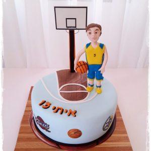 עוגה איתי כדורסל 1