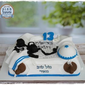 עוגת בר מצווה ספר תורה