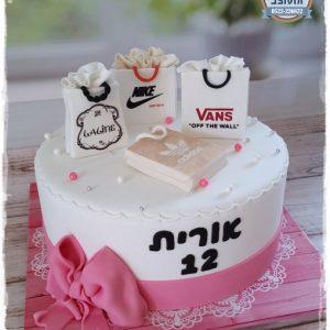 עוגת בת מצווה מותגים