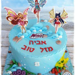 עוגת ווינקס לאביה