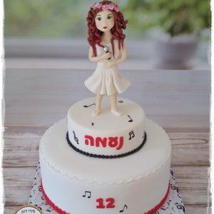 עוגת בת מצווה זמרת