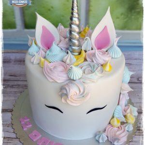 עוגת חד קרן 1