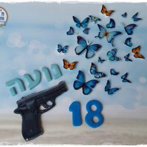 ערכת אקדח יורה פרפרים