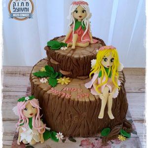 עוגת יער הפיות
