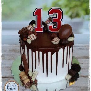 עוגת בר מצווה ממתקים