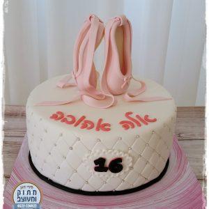 עוגת נעלי בלט - 16