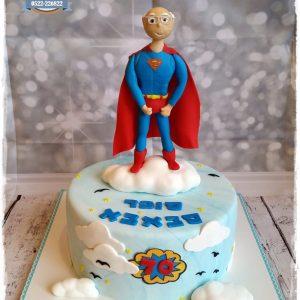 עוגת סופרמן סבא 2