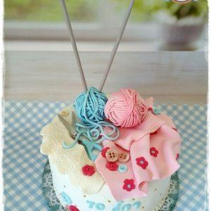 עוגת סריגה איילת