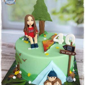 עוגה יום הולדת 40