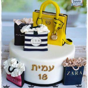 עוגת תיק מייקל קורס + מותגים